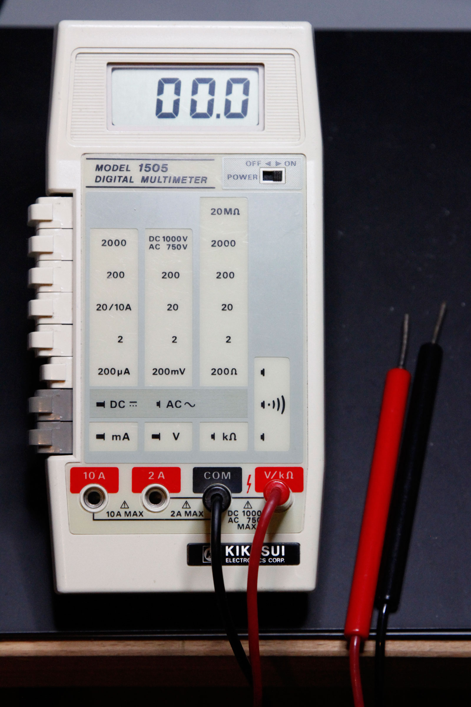 Kikusui Model 1505 Digital Multimeter