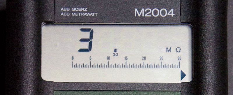 ABB Metrawatt M2004 Digital Multimeter