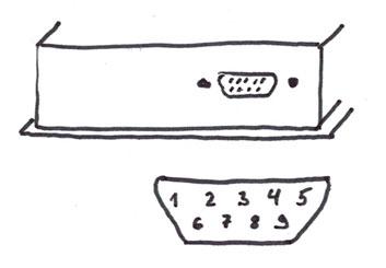 DE-9 Connector