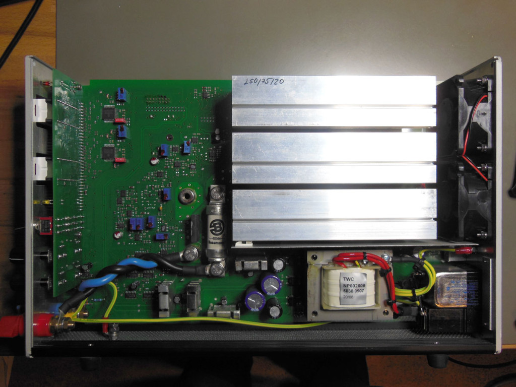 EPS/ELA 250/75/20 Electronic Load - board (right side)