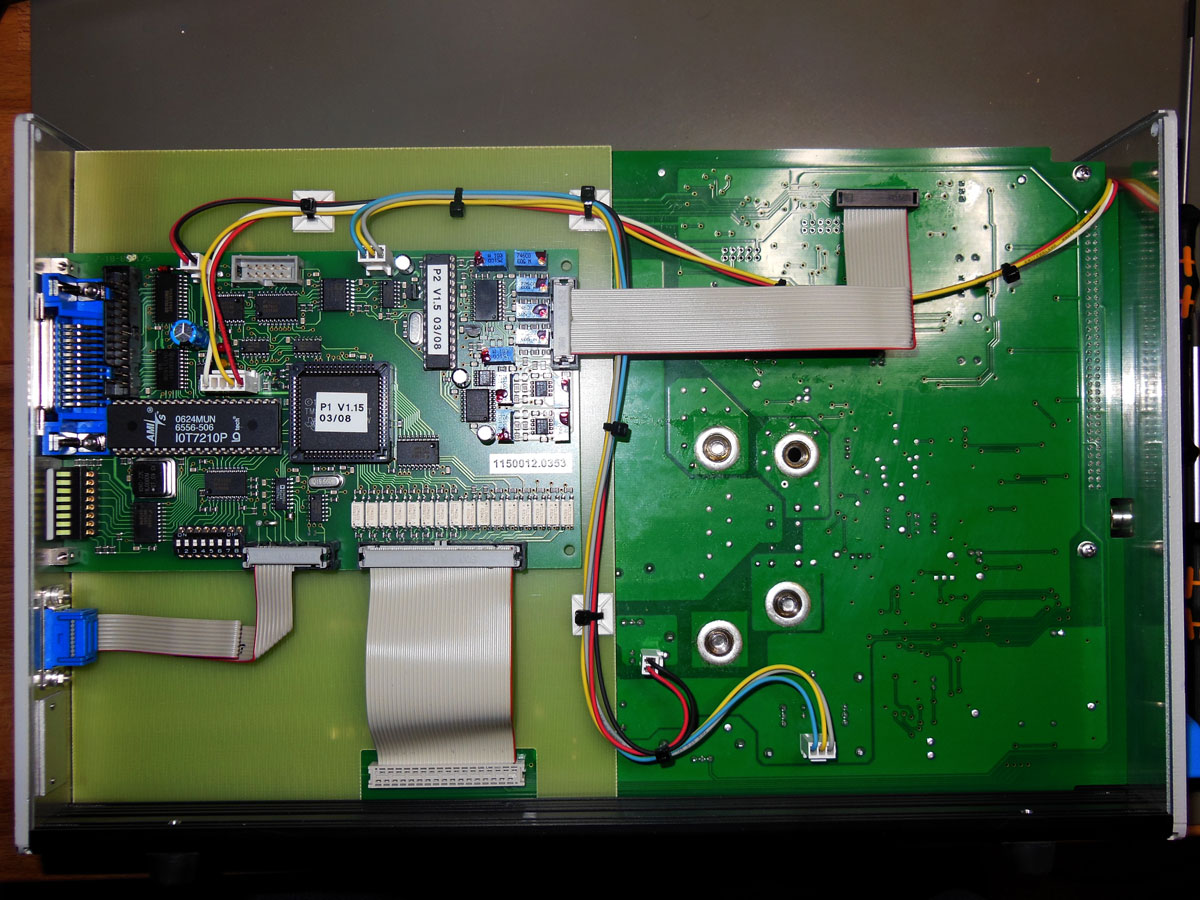 EPS/ELA 250/75/20 Electronic Load - board (left side)